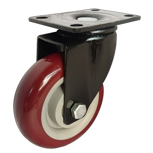 Medium duty swivel caster